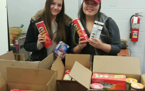 Gifted and Talented sends gifts overseas to military