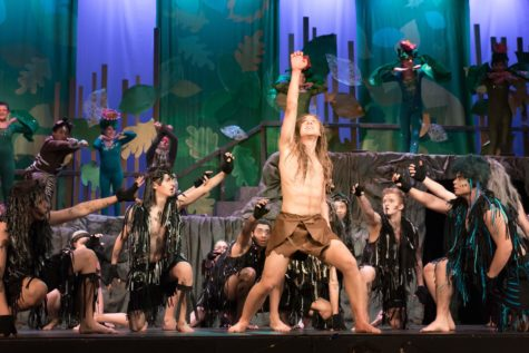 Tarzan cast performs children's show Saturday amidst weekend performances