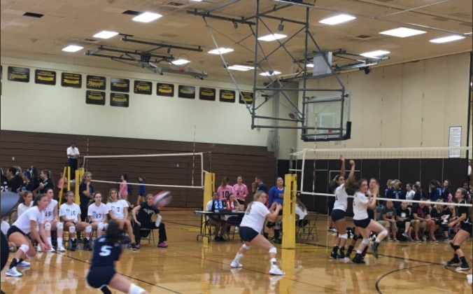 Volleyball Team at Clarkstown South HS Tournament on September 23rd