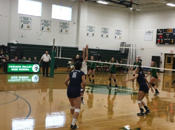 The team takes on Paramus in a recent game