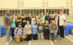 Winter Sports: Girls' Track Dashing Ahead