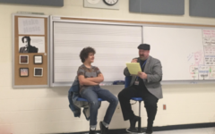 Gaten Matarazzo Speaks to Students
