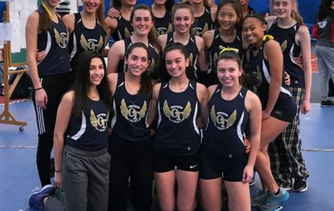 Girls' Winter Track Ends on a High Note