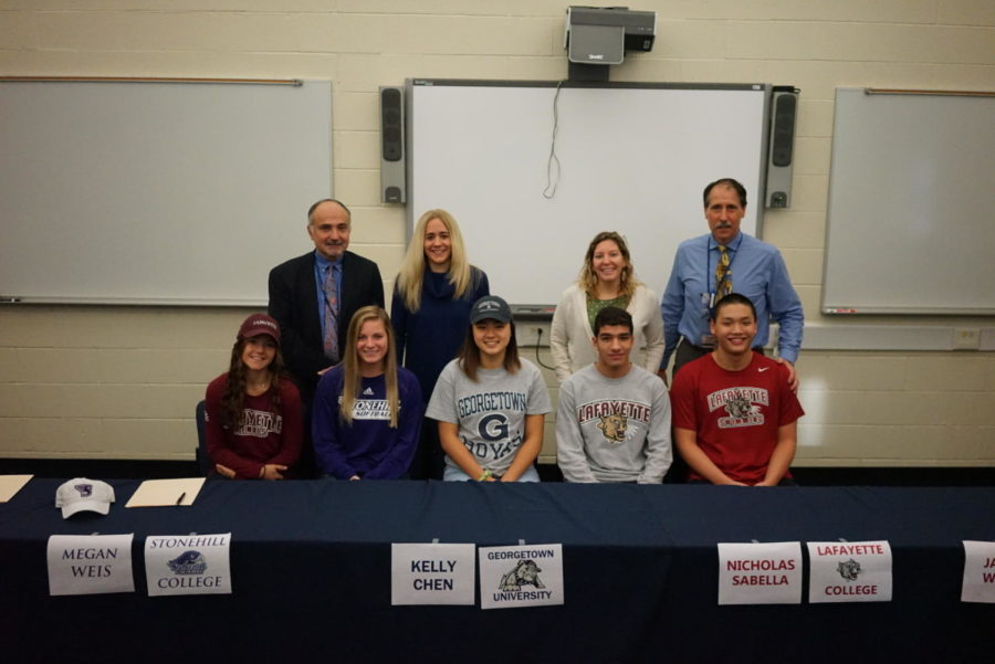 Golden Knights Signing Day