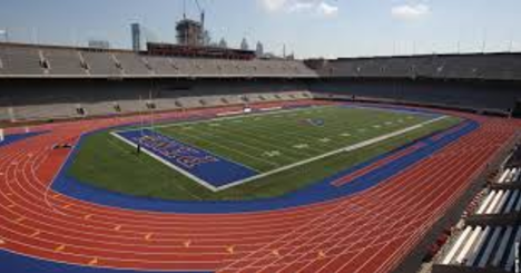 Franklin Field Stadium at the University of Pennsylvania.