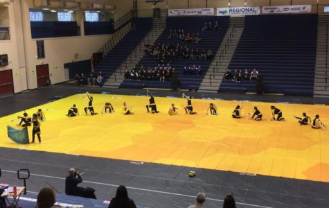 Winter Guard Finishes Strong