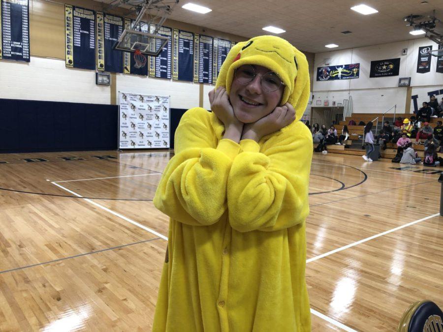 Senior Camilla Bager(Pikachu)