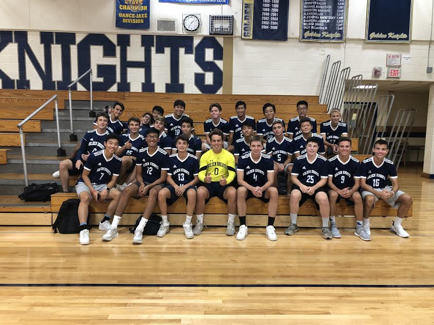 The boys soccer team started their season without a manager