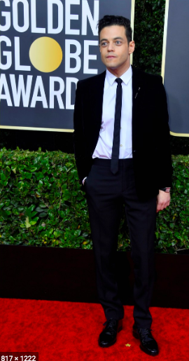 5.+Rami+Malek+failed+to+wow+the+crowd+with+his+simple+Saint+Laurent+suit+and+tie.+His+ensemble+was+basic+and+while+his+Cartier+jewelry+could+have+added+more+to+this+simplistic+outfit%2C+his+watch+was+almost+imperceptible+to+the+eye+because+it+was+covered+by+the+long-fitted+blazer.