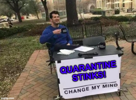 Quarantine is a Quaranbust