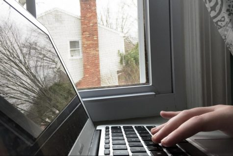 College students come home, and classes go online