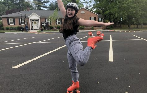 Olivia Genco takes on roller skating for a week