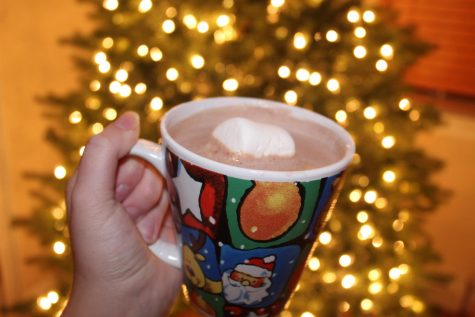 A cup of hot chocolate is one of the best ways to get into the holiday spirit.