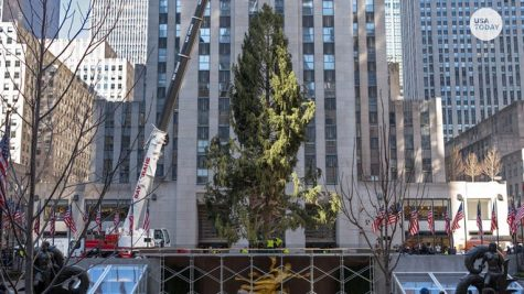 Despite criticism on Twitter, the Rockefeller Center Christmas Tree is trying its best this year.