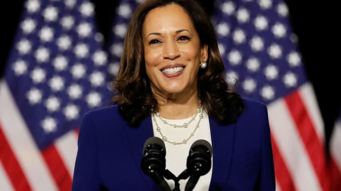 Kamala Harris is the first woman of color to serve as Vice President of the United States.