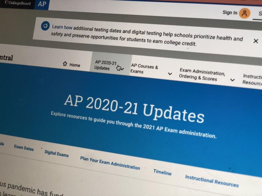 College+Board+releases+the+latest+about+the+new+2021+AP+exams.