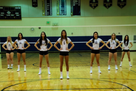 Seven senior volleyball players are part of the 2021 season three roster.