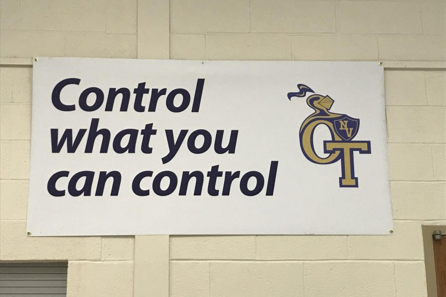 Control what you can control.
